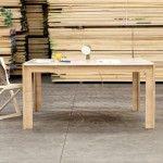 Tavolo rovere con piano in marmo di carrara