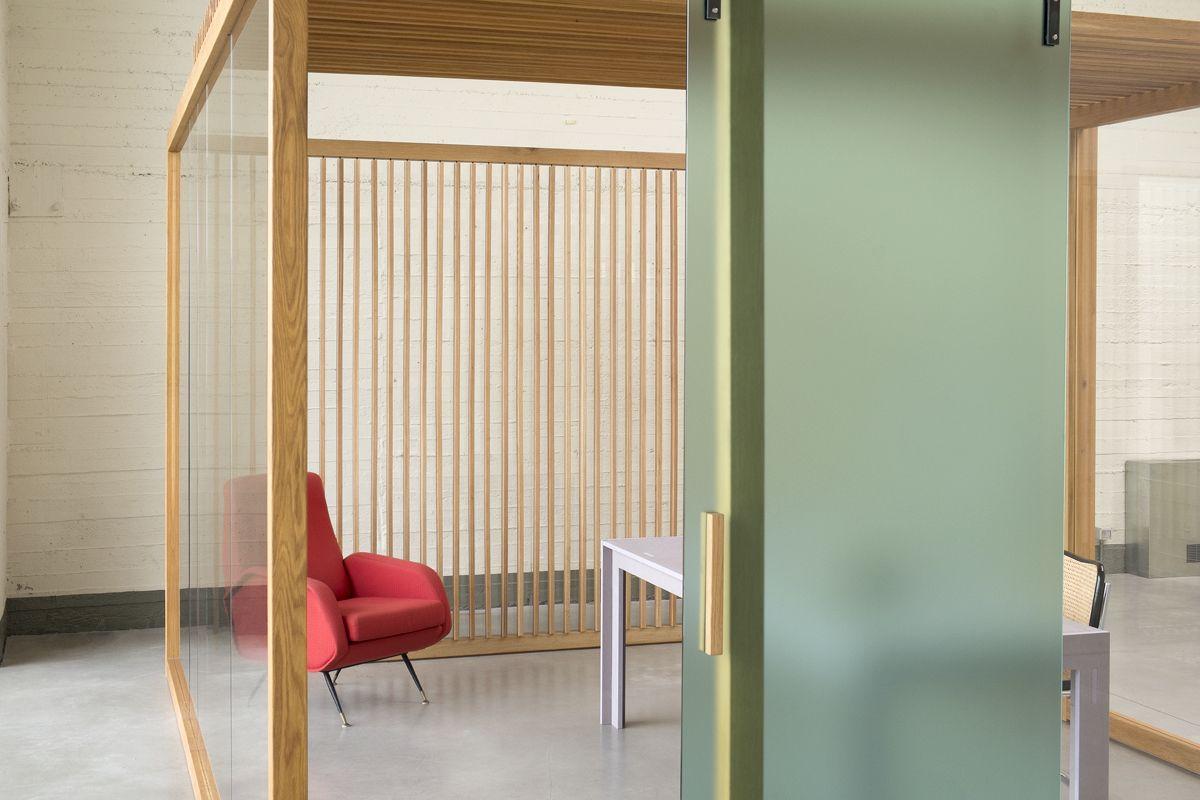 Parete Divisoria In Vetro E Legno ~ Trova le Migliori idee per Mobili e Interni di Design