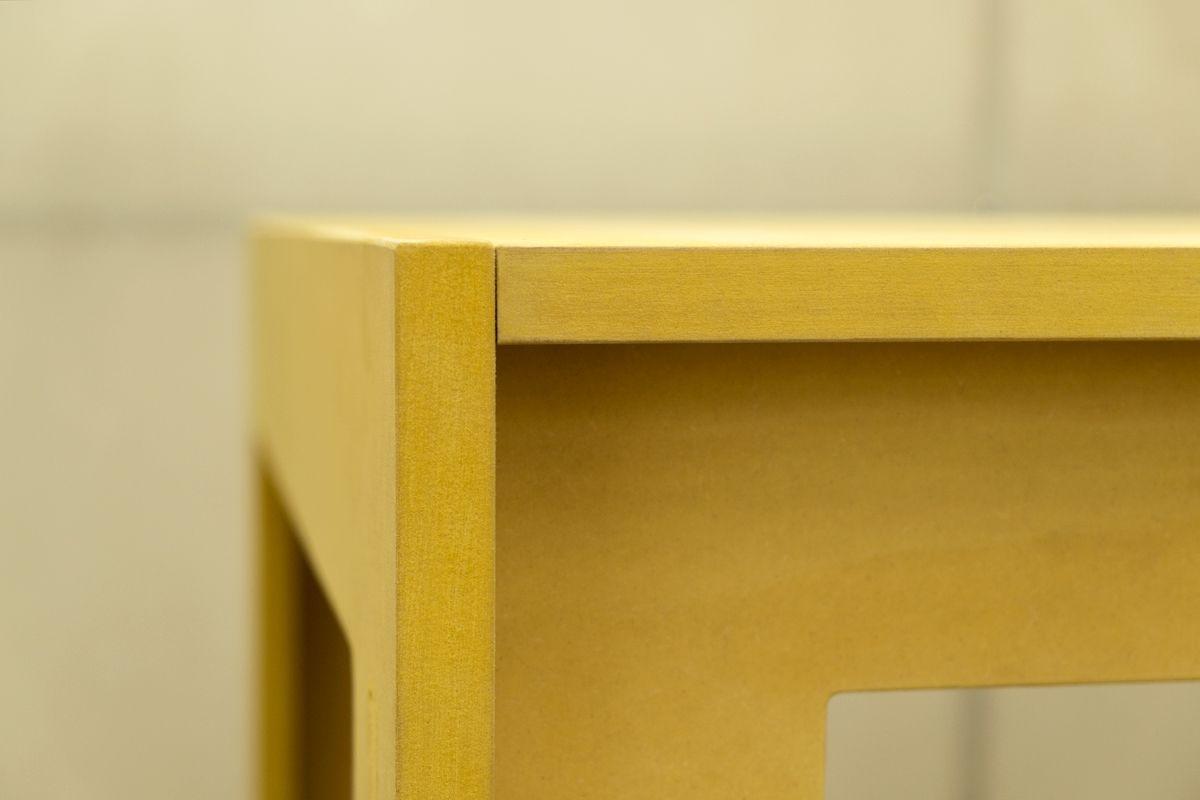 Tavolo Allungabile Giallo : Tavolo giallo terredelgentile