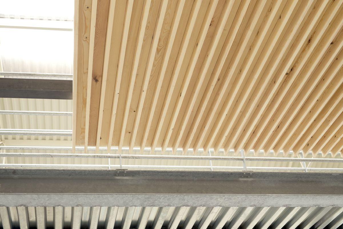 Nodoo controsoffitto a doghe chiuse for Controsoffitto in legno