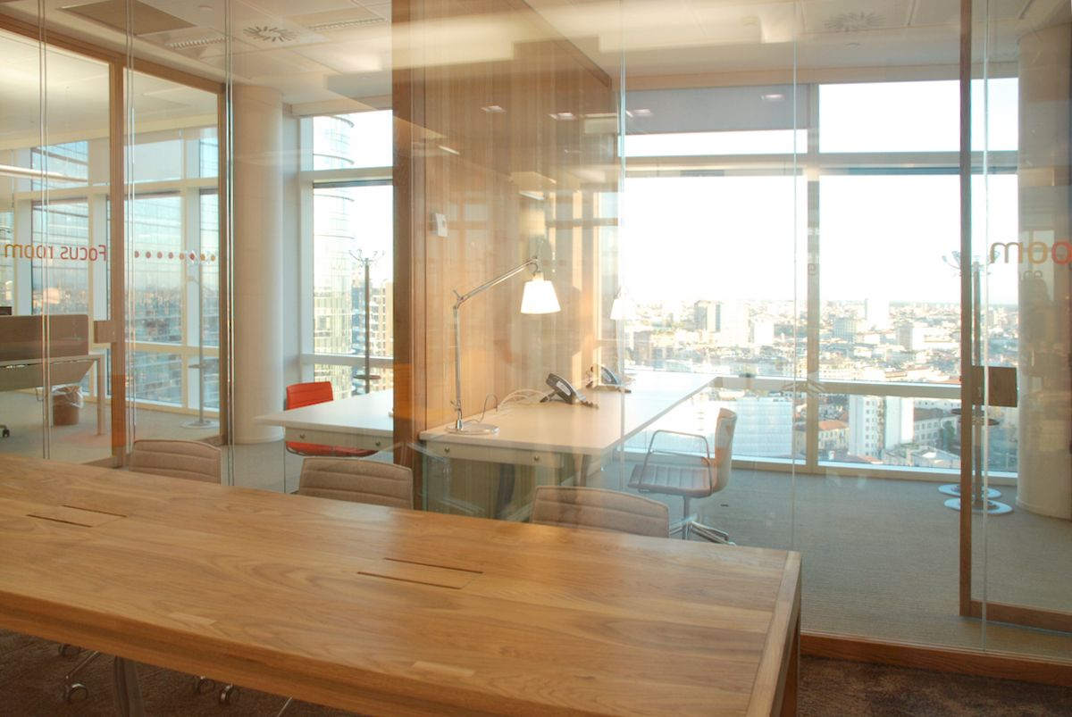 Unicredit Tower – smart working office - Milano