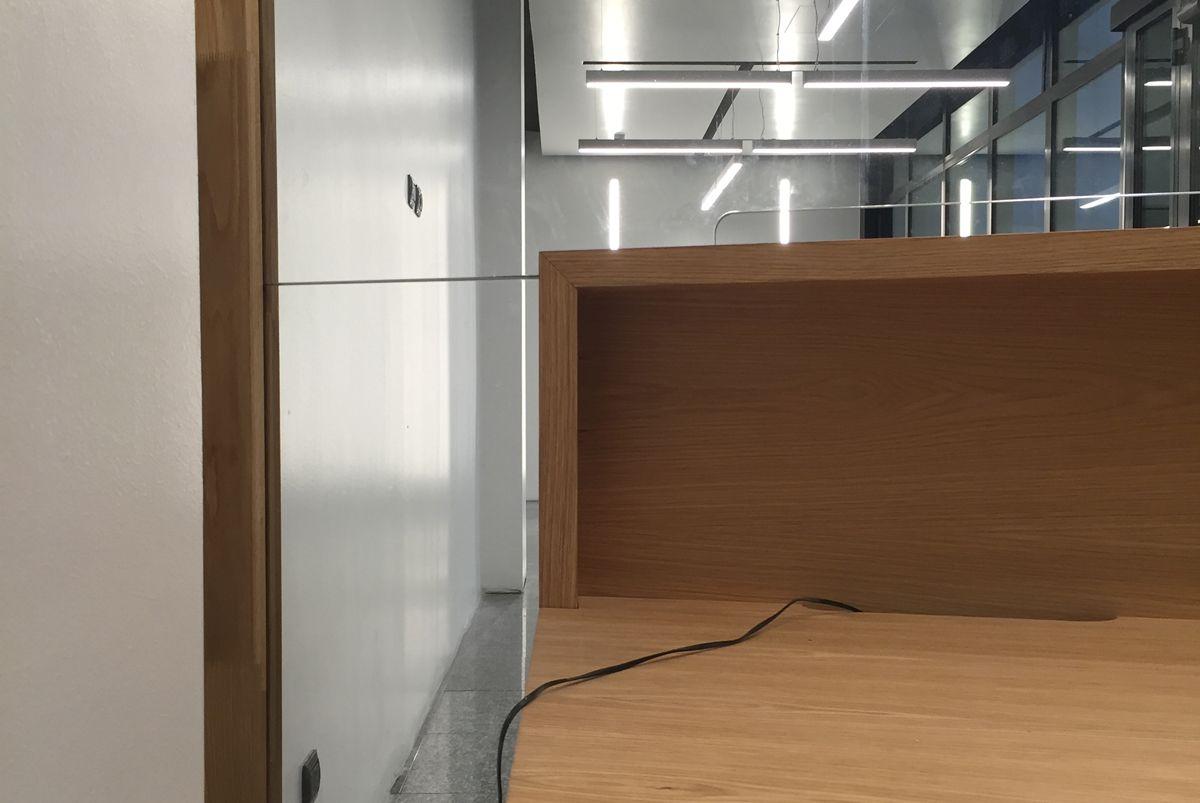 Castello Re - Reception furniture project - Milan