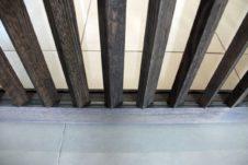 IeS spa - dettaglio frame doghe verticali - Repubblica di San Marino