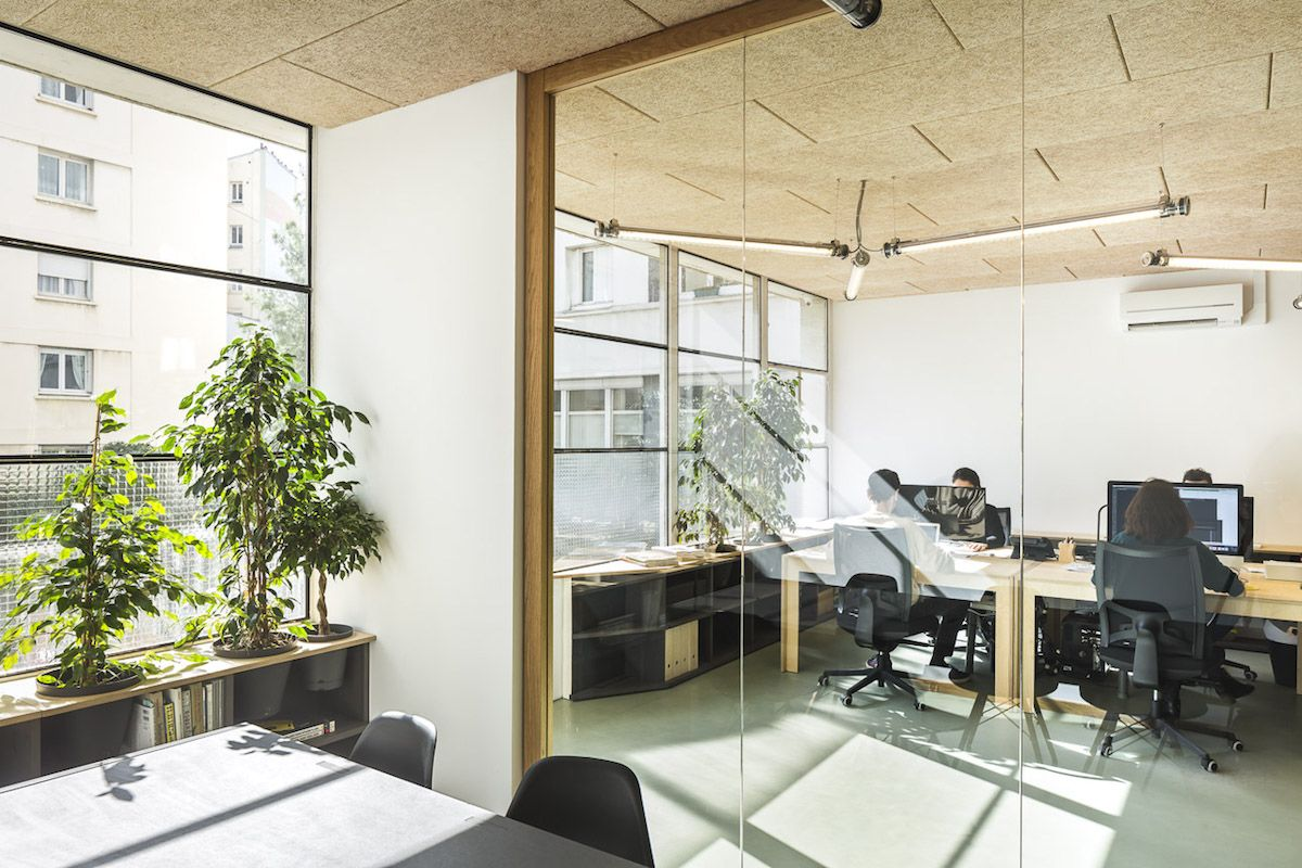 Spinetto architects - walls, tables and furniture - Paris
